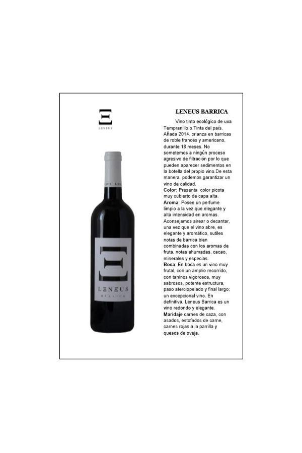 Leneus Barrica Caja de 6 botellas