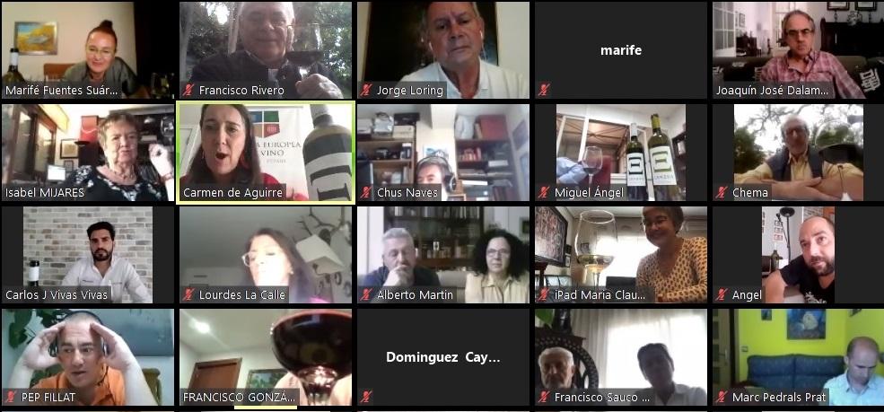 Récord mundial de cata on line desde Extremadura